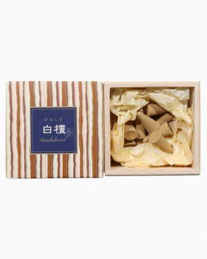 Kayuragi Sandalwood Incense Cones by Nippon Kodo