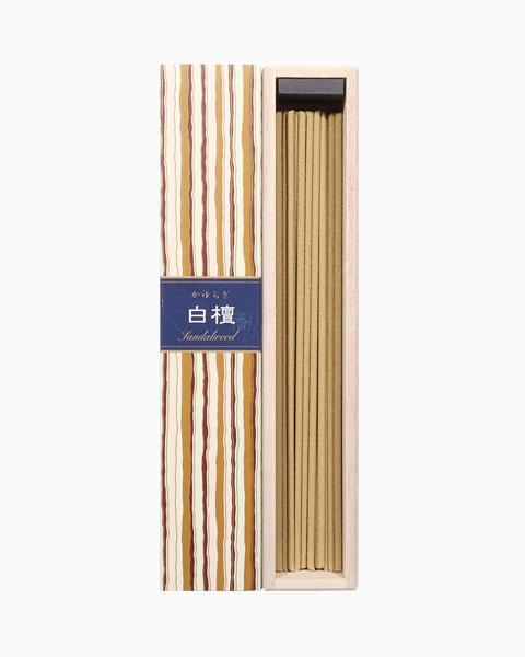 Kayuragi Sandalwood Incense Sticks by Nippon Kodo