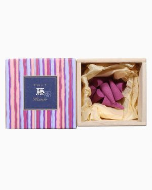 Kayuragi Wisteria Incense Cones by Nippon Kodo