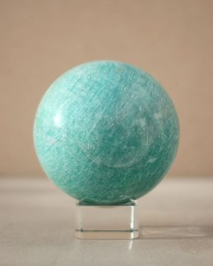 Large Amazonite Sphere | 728 grams 81mm diameter