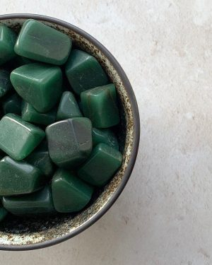 Green Aventurine Tumbles 100g
