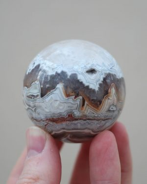 Mexican Crazy Lace Agate Sphere 04