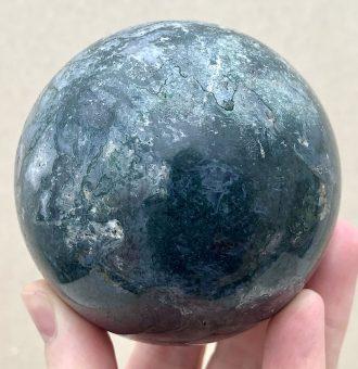 Moss Agate Sphere 062