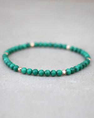 Dainty Malachite Bracelet