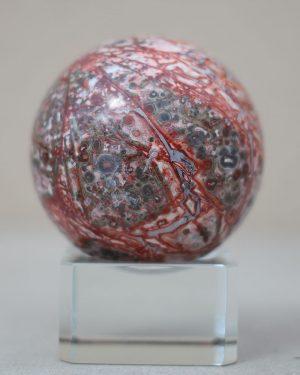 Leopard Jasper Sphere 52