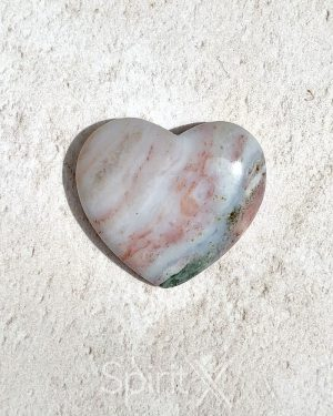 Ocean Jasper Heart 0001