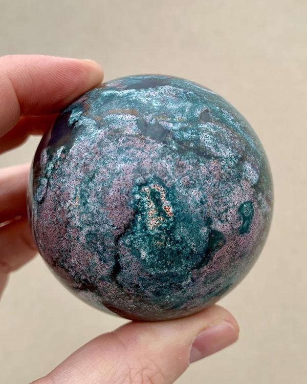 Ocean Jasper Sphere 059
