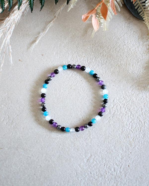 Dainty Empath Aura Protection Bracelet